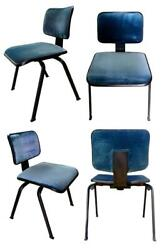 Lot Of 4 Chairs Olivetti Synthesis Edys Design Ettore Sottsass And Hans Von Klier