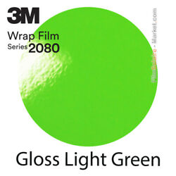 Gloss Light Green 3m 2080 G16 New Series Car Wrapping Total Covering Film