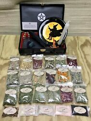 Witch Kit Herbs Witchcraft Spells Pagan Altar Naturopath Magic Wicca