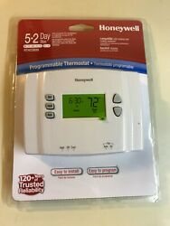 New Sealed Honeywell Programmable Digital Thermostat Heating And Cooling Rth2300b