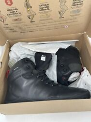 Discontinued Vivobarefoot 300047-02 Tracker Fg Black Mens Hiking Boots Size 44 M
