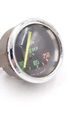Vintage Rounded Glass Triumph T4 Jaeger Colored Temp Gauge Smith Motor