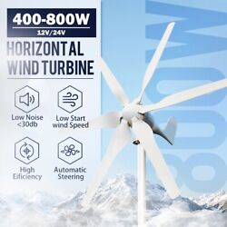 Wind Turbine Power Generator Kit Farm Free Energy High Efficient 12v 24v 48v