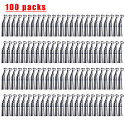 100 Nsk Style Dental Low Slow Speed Contra Angle Handpiece Push Button Seasky