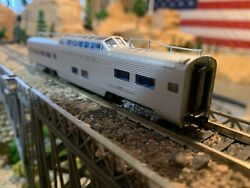 N Scale Con-cor 85' Santa Fe P-s Dome Passenger Car Very Well Detailed New