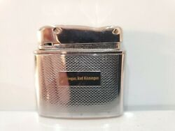 Vintage Lighter Kw Karl Wieden Germany Small Wrench Silver Sparks 1287.32