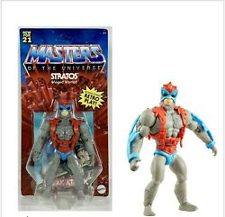 Mattel Masters Of The Universe Origins Stratos Figure In Hand Ships Now New