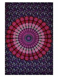 IndianTraditional Jaipur Lavender Mirchi Hippie Wall Tapestry Ethnic Decorative