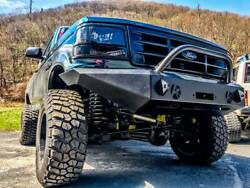 Full Size Ford Truck And Bronco Modular Front Bumper 1987-91
