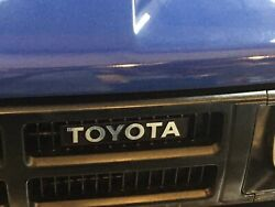 1984 1985 1986 Toyota Pick Up And 4runner Replacement Grill Emblem Overlay.