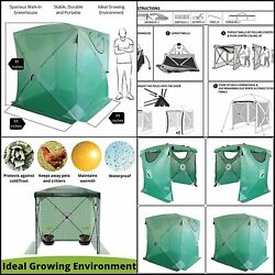 Kradl 2 Minute Portable Greenhouses For Outdoors   Pop Up Greenhouse Kit