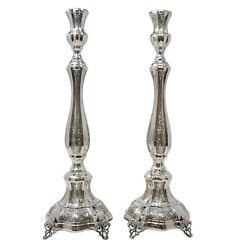 Sterling Silver Candlestick- Amadeo Decorated