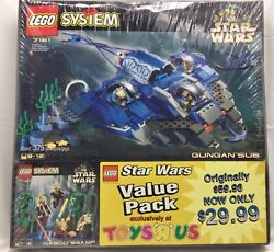 Lego Star Wars 65034 Toys R Us Exclusive Factory Sealed Rare Hard To Find