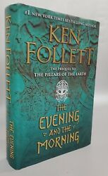THE EVENING AND THE MORNING by Ken Follett 2020 HC DJ 1st 1st like new $12.95