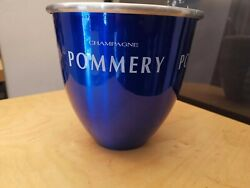 Rare French Pommery Champagne Cooler Wine Ice Bucket