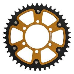 New Supersprox Stealth Sprocket, 7094-43 For Marvic 520 Pitch 6 Bolts 00, Gold