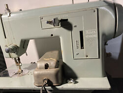Antique Sears Kenmore Model 5186 Sewing Machine, Works Great Tested And Proven