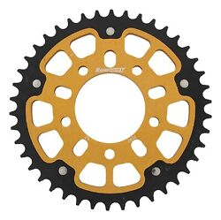 New Supersprox Stealth Sprocket, 42t For Marvic 525 Pitch 5 Bolts 00, Gold