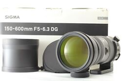 Sigma 150-600mm F/5-6.3 Dg Os Hsm Sports For Nikon 【top Mint】 From Japan 541