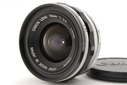 [ab- Exc] Canon 19mm F/3.5 Rangefinder Lens For Leica L39 Screw From Japan 6878