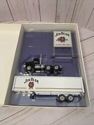 Jim Beam With Sign Winross Diecast Truck And Trailer 164, Nice Piece, Mint, Usa