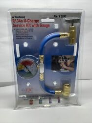 Fjc 6036 R134a U-charge Hose With Gauge Air Conditioning Products Refrigerant