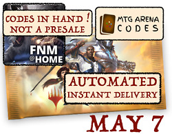 MAGIC MTG Arena code card FNM Home Promo Pack MAY 7 INSTANT MAIL..