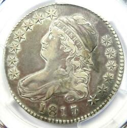 1817/3 Capped Bust Half Dollar 50c O-101a - Pcgs Vf Detail - Rare Overdate Coin