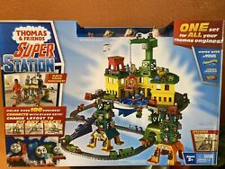 Thomas And Friends Super Station Brand New In Box The Tank Engine Huge Playset