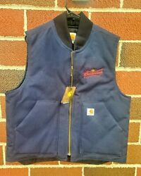 Duck Vest Arctic Quilt Lined Budweiser V01 Dny Size Large Nwt