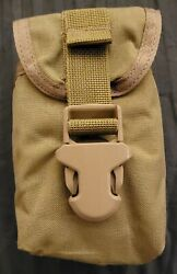 New Coyote Brown Eagle Sr25 Double 762 Rifle Gp Utility Molle Pouch Seal Devgru