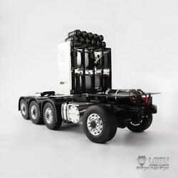 Lesu 1/14 Model Scania R620 Rc Heavy-duty Chassis 4 Axle For Car Tractor Truck