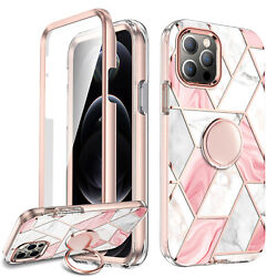 Cute Case iPhone 12 12 Pro Max Ring Kickstand Holder For Girls Women Cover $14.90