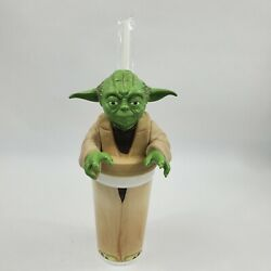 Star Wars Episode I Yoda Cup And Topper 1999 Promo Pizza Hut Taco Bell New
