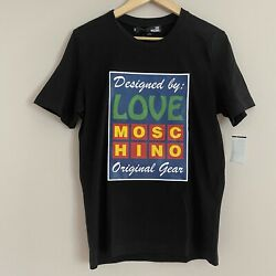 Authentic Love Moschino Crew Neck Short Sleeve Mens Small $49.99