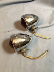 Vintage Guide Turn Signal Stop Lights Old Car Truck Rat Rod Buick Chevy Pontiac