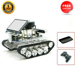 Tracked Vehicle Ros Car Robotic Car W/ Touch Screen Voice Module A2 Radar Tzt
