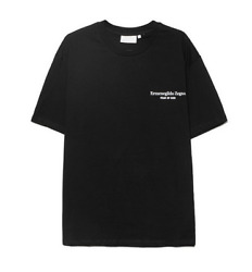 Us Fear Of God Fog Joint Letter Printing Loose Couple Short-sleeved T-shirt