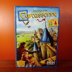 New Carcassonne Board Game Zman Gold Bags Mini Expansions The River amp; The Abbot $24.50