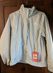 NWT The North Face Women#x27;s Resolve 2 Rain Jacket Waterproof DRYVENT Large FLAW $19.99