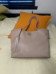 TORY BURCH Taylor Leather Tote $120.00