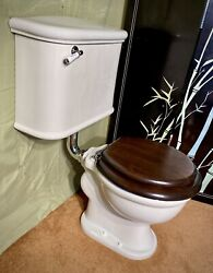 Antique Wall Mounted Toilet Crane Restored