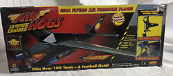 Air Hogs V Wing Avenger Air Pressure Engine Plane Airplane 1999 Spin Master Read