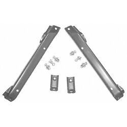 Bumper Mounting Bracket Set Made Of Steel Fits 71-72 Chevy 4143-005-71s