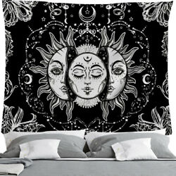 Psychedelic Cotton Wall Hanging Decor Poster Tapestry Hippie Bohemian Mandala