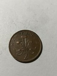 Coins Uk 🇬🇧 2 New Pence 1979 B363