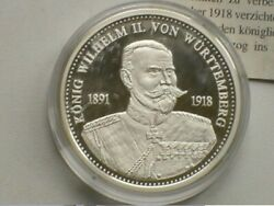 Coin-shaped Medal From The Series Kings Of Germany 1992 Silver 999 Coin Sriblo