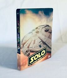 Solo A Star Wars Story 3d + 2d Blu-ray Steelbook Exclusive Limited Edition