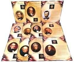 Pcs United States Presidents Coin And Stamps Collection Lot Of 11 Panels
