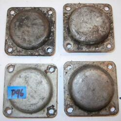 1950and039s-on Bsa A7 A10 Engine Sump Plates Used Parts Group Qty-4 Shown - P96